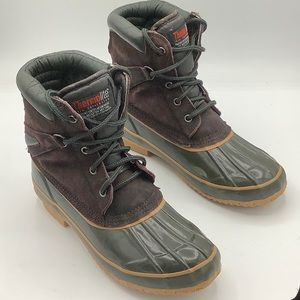 SNO RACER insulated winter duck boots